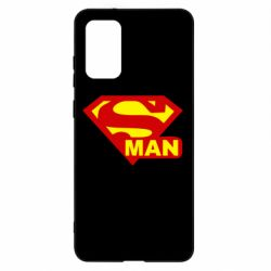 Чохол для Samsung S20+ Super Man
