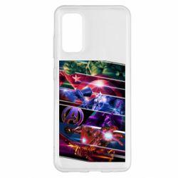 Чехол для Samsung S20 Super power avengers