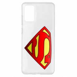 Чехол для Samsung S20+ Superman Logo