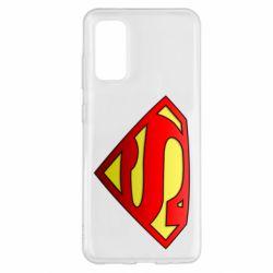 Чехол для Samsung S20 Superman Logo