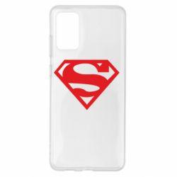 Чехол для Samsung S20+ Superman одноцветный