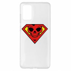 Чехол для Samsung S20+ Superman Skull