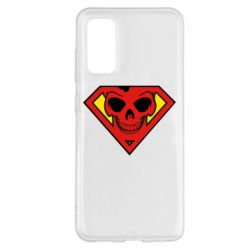 Чехол для Samsung S20 Superman Skull