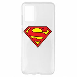 Чехол для Samsung S20+ Superman Symbol