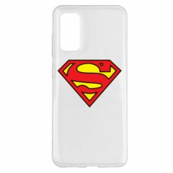 Чехол для Samsung S20 Superman Symbol