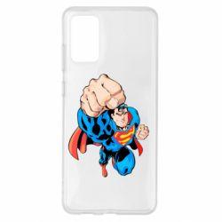 Чохол для Samsung S20+ Супермен Комікс