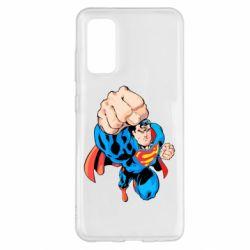 Чохол для Samsung S20 Супермен Комікс
