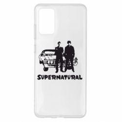 Чохол для Samsung S20+ Supernatural Брати Вінчестери