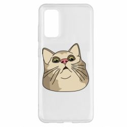 Чехол для Samsung S20 Surprised cat