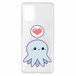 Чехол для Samsung S20+ Sweet Octopus