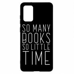 Чохол для Samsung S20+ Так багато книг так мало часу