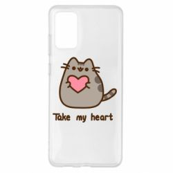 Чохол для Samsung S20+ Take my heart