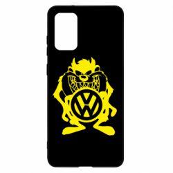 Чехол для Samsung S20+ Тасманский дьявол Volkswagen