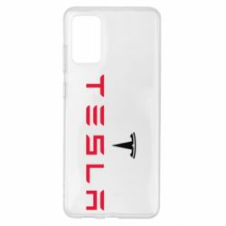 Чехол для Samsung S20+ Tesla