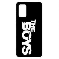 Чехол для Samsung S20+ The Boys logo