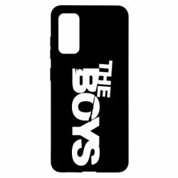 Чехол для Samsung S20 The Boys logo
