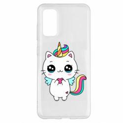 Чохол для Samsung S20 The cat is unicorn