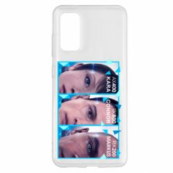 Чохол для Samsung S20 The faces of androids game Detroit: Become human