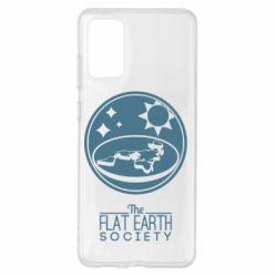 Чохол для Samsung S20+ The flat earth society