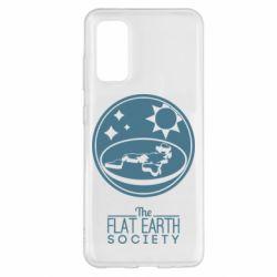 Чохол для Samsung S20 The flat earth society