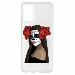 Чохол для Samsung S20+ The girl in the image of the day of the dead