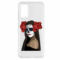 Чохол для Samsung S20 The girl in the image of the day of the dead