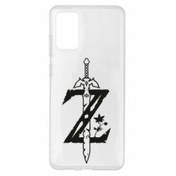 Чохол для Samsung S20+ The Legend of Zelda Logo