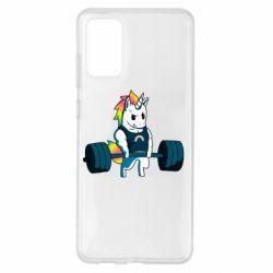 Чохол для Samsung S20+ The unicorn is rocking