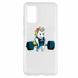 Чохол для Samsung S20 The unicorn is rocking