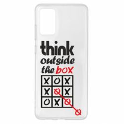 Чохол для Samsung S20+ Think outside the box