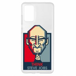 Чехол для Samsung S20+ Think Steve Jobs