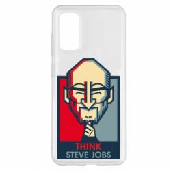 Чехол для Samsung S20 Think Steve Jobs