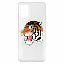 Чохол для Samsung S20+ Tiger roars