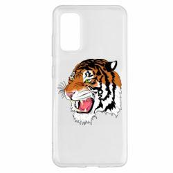 Чохол для Samsung S20 Tiger roars