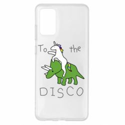 Чохол для Samsung S20+ To the disco