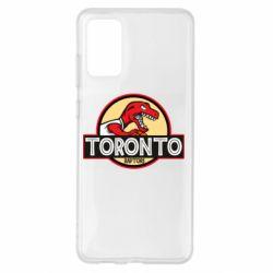 Чохол для Samsung S20+ Toronto raptors park