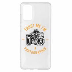 Чохол для Samsung S20+ Trust me i'm photographer