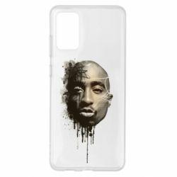 Чехол для Samsung S20+ Tupac Shakur