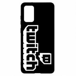 Чохол для Samsung S20+ Twitch logotip