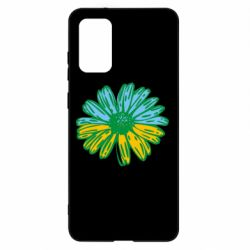 Чехол для Samsung S20+ Українська квітка