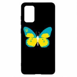 Чохол для Samsung S20+ Український метелик