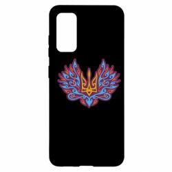 Чохол для Samsung S20 Український тризуб арт