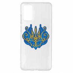 Чохол для Samsung S20+ Український тризуб монограма