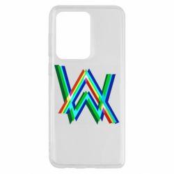 Чохол для Samsung S20 Ultra Alan Walker multicolored logo