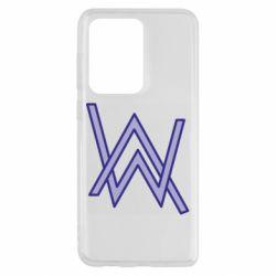 Чехол для Samsung S20 Ultra Alan Walker neon logo