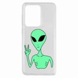 Чохол для Samsung S20 Ultra Alien and two fingers