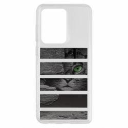 Чехол для Samsung S20 Ultra All seeing cat