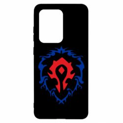 Чехол для Samsung S20 Ultra Alliance and horde two in one