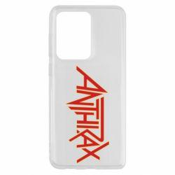 Чохол для Samsung S20 Ultra Anthrax red logo