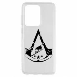 Чехол для Samsung S20 Ultra Assassin's Creed and skull 1